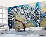 Yosot Benutzerdefinierte Tapete Europäischen Handwerk Riesen Brunnen Baum Gemälde, Fresko Dekorative Hintergrund 3D Tapete Wandbild-400cmx280cm
