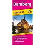 Bamberg: Touristischer Stadtplan mit Sehenswürdigkeiten und Straßenverzeichnis. 1:14000 (Stadtplan / SP)