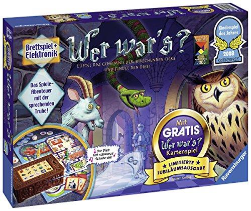 """Ravensburger Kinderspiele 21371"""" Wer War's-Limitierte Jubiläumsausgabe Spiel"""