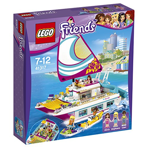 LEGO UK 41317 Sunshine Catamaran Construction Toy