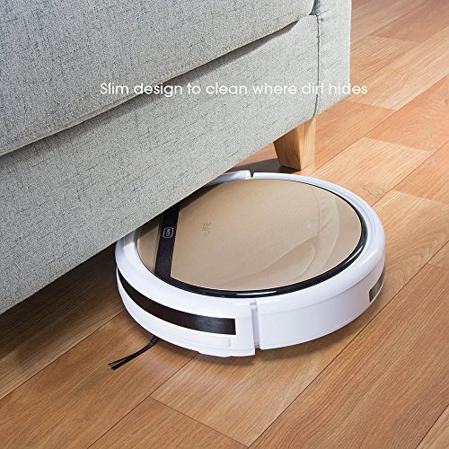 ILIFE V5s Roboter Staubsauger mit Wasserbehälter Mopping, Gold - 5