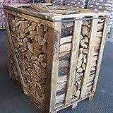 Brennholz / Kaminholz 1,5 SRM (1RM) - kammergetrocknet & ofenfertig – aus nachhaltiger deutscher Forstwirtschaft