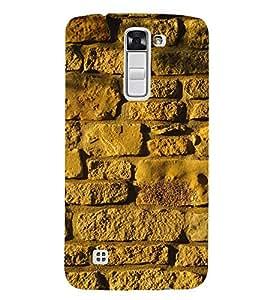 EPICCASE Yellow wall Mobile Back Case Cover For LG K10 (Designer Case)