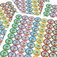 Chunky Hamster Cute Mermaids, Reward Sticker Labels, Children, Parents, Teachers