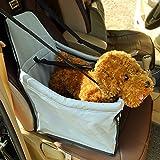 Zusammenklappbarer Käfig Pet Auto, Hund Katze Auto Sitzerhöhung Travel Tasche wasserdicht Hundehütte Tote mit Sicherheit Leine, perfekt Ausflüge mit Ihrem Hund