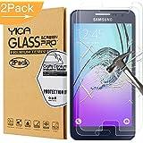 Samsung Galaxy A3 Protecteur D'écran, Yica Samsung Galaxy A3 2016 Protecteur D'écran Verre Trempé [Anti-rayures] [Sans bulle] Protecteur D'écran Verre Trempé Film Protecteur pour Galaxy A3 2016-2Pack