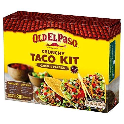 old-el-paso-croccante-taco-kit-di-aglio-e-peperoncino-308g-confezione-da-6