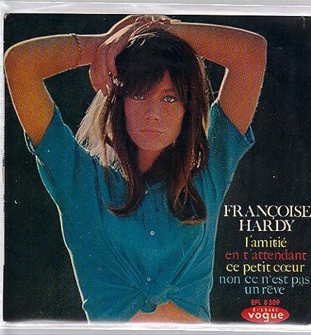 FRANCOISE HARDY 45 TOURS 4 TITRES