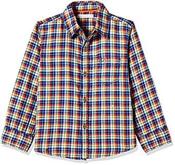 Scullers Kids Boys' Shirt (MS0288_Multicoloured_11 - 12 years)