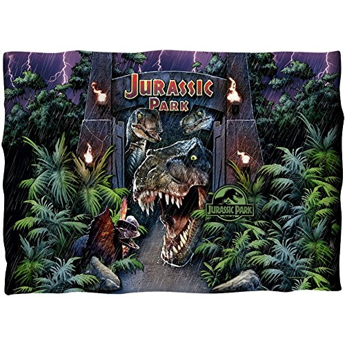 Jurassic Park Welcome to the Park Kissen Fall Weiß One Size