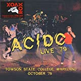 Live - Towson State College, Maryland - October 1979