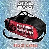 Borsa da palestra con motivo ufficiale Star Wars - tracolla regolabile - 21 litri