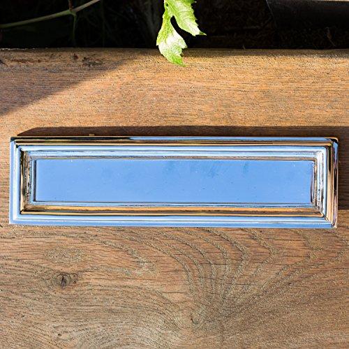 Antikas - bocacartas diseño moderno de alta calidad - bocacartas de latón niqueado - bocacartas exterior
