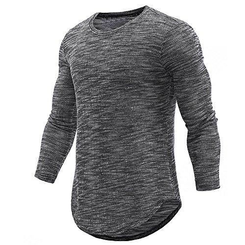 bd9a7fa5b7935e Herren Langarmshirt Xinantime Poloshirt Langarm Herren Tshirt Polohemd  Langarmshirt Sweatshirt Sport Langarm Shirts Männer M-