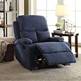 Auspicious Single Seater Recliner (Blue)