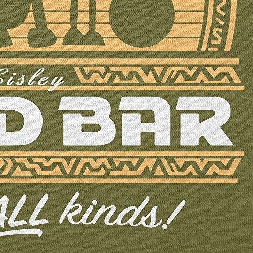 TEXLAB - Droid Bar - Herren T-Shirt Oliv