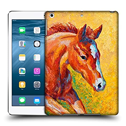 Official Marion Rose Sorrel Filly Horse Hard Back Case for Apple iPad Air