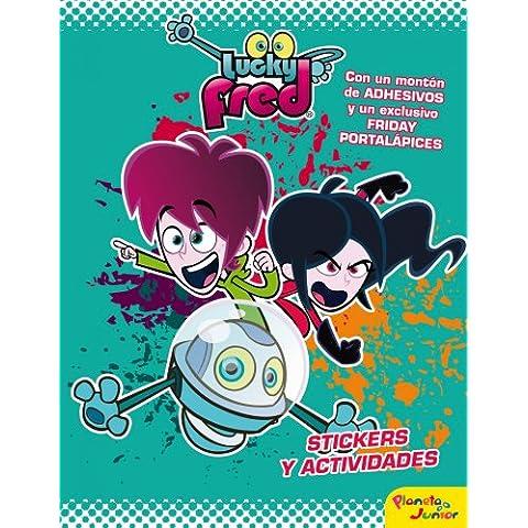 Lucky Fred. Stickers. La Gran Aventura Espacial (Lucky Fred (planeta Junior)