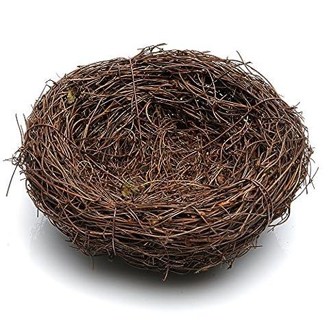 dairyshop handgefertigt Bird Nest Haus (Vine), Home nature Craft Best für Hochzeit Decor, Party Decor und Home Decor 5.9inchs Diameter (Hawaiianische Ananas)