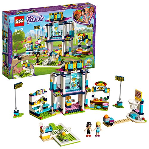 LEGO UK 41338 Stephanie's Sports Arena Building Block Best Price and Cheapest