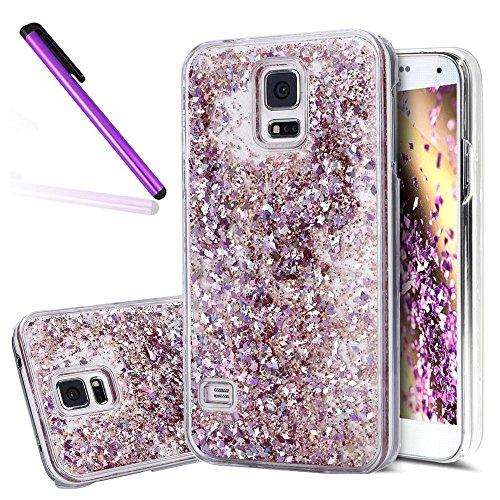 Samsung Galaxy S5case, Samsung Galaxy S53D glitter case, Newstars Galaxy