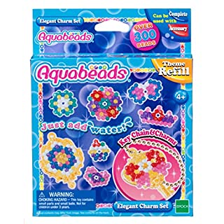 AQUA BEADS Aquabeads 31038Elegantes Charm-Set, Mehrfarbig