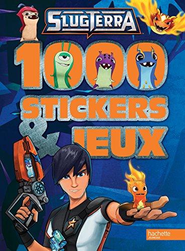 Slugterra - 1000 stickers et jeux