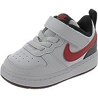 Nike Scarpe Sportive Court Borough Low 2 TDV BQ5453110 Bambino Bianche