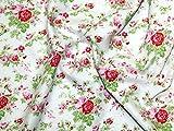 Free Spirit Tanya Whelan Delilah Amelie Poplin Quilting Fabric White - per metre