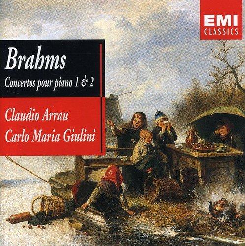 BRAHMS - Concertos pour piano 1 et 2