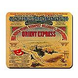 CafePress–Orient Express–rutschfeste Gummi Mauspad, Gaming Maus Pad