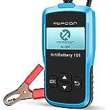 Topdon AB101 12V Automotive Auto Batterij Tester 100-2000 CCA Professionele Load Analyzer en Dynamo op Cranking Systeem en Op