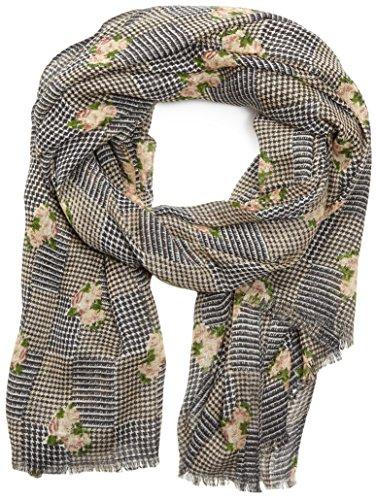 PIECES Pcraba Long Wool Scarf-Sciarpa Donna    Mehrfarbig (Whitecap Gray) Taglia unica