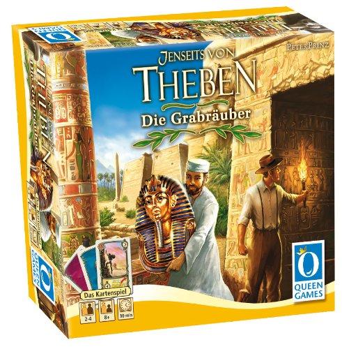 Preisvergleich Produktbild Queen Games 6075 - Theben das Kartenspiel