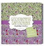 Geschenkpapier Gartenzauber: 10 große Bögen/46 x 85,5 cm (Geschenkpapier-Buch)