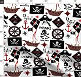 Pirat, Piraten, Piratenschiff, Anker, Schiff, Segel, Segeln