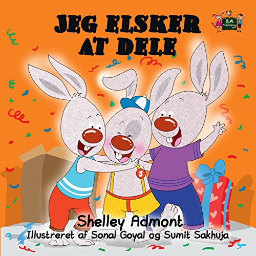 Jeg elsker at dele (Danish Bedtime Collection) (Danish Edition) por Shelley Admont
