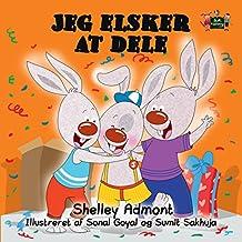 Jeg elsker at dele  (Danish Bedtime Collection) (Danish Edition)