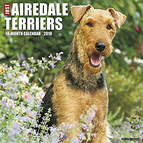 Just Airedale Terriers 2018 Calendar