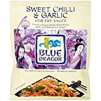Blue Dragon Revuelva Salsa De Alevines - Chile Dulce Y El Ajo (120g) (Paquete de 6)