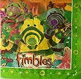 JBrice01 FIMBLES NAPKINS 20 PCS PLUS 30 PCS JUMBO BALLOONS (2 in 1 ) Amazing deal !