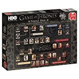 Image for board game Jumbo Game of Thrones - Series 5 Family Tree 1000 piece Jigsaw Puzzle