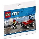 Lego 30361 - Cochecito de Bomberos, Multicolor