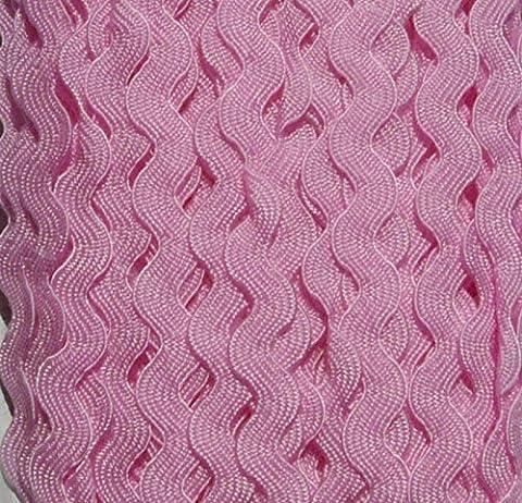 New 3 metres x 5mm pink ricrac trim rick rack