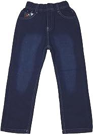 Unbekannt Bequeme Jungen Jeans mit rundum Gummizug in blau, J146e