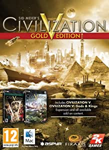Sid Meier's Civilization V Gold Edition [Online Game Code]