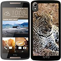 Custodia per Htc Desire 828 - Gatto Leopardo Tigre Leone by WonderfulDreamPicture
