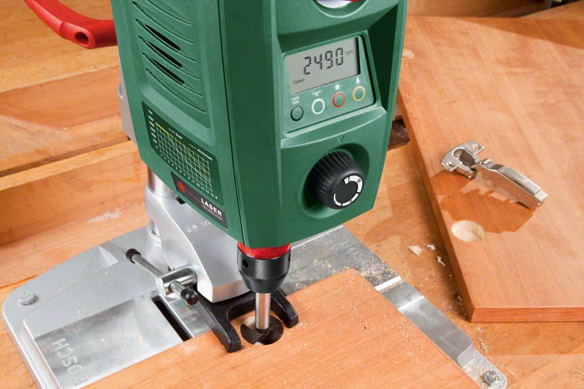 Bosch-Home-and-Garden-0603B07000-Trapano-a-Colonna-per-Acciaio-e-Legno-710-W-Verde13-mm-e-40-mm