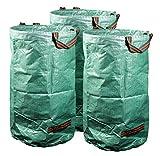 mgc24 3er-Set Gartensack 272 Liter für Laub und Grünschnitt  Laubsack, Gartenabfall, Grünabfall  150 g/m