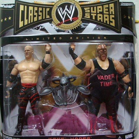 Vader vs Kane Exclusive Figuren Set - WWE